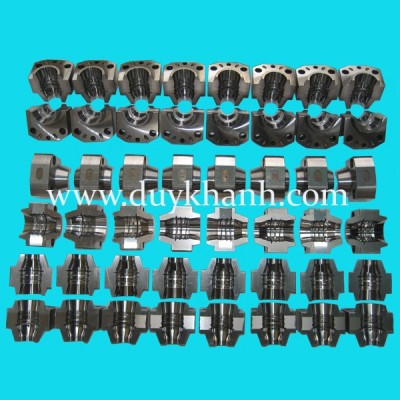 PET preform molding part